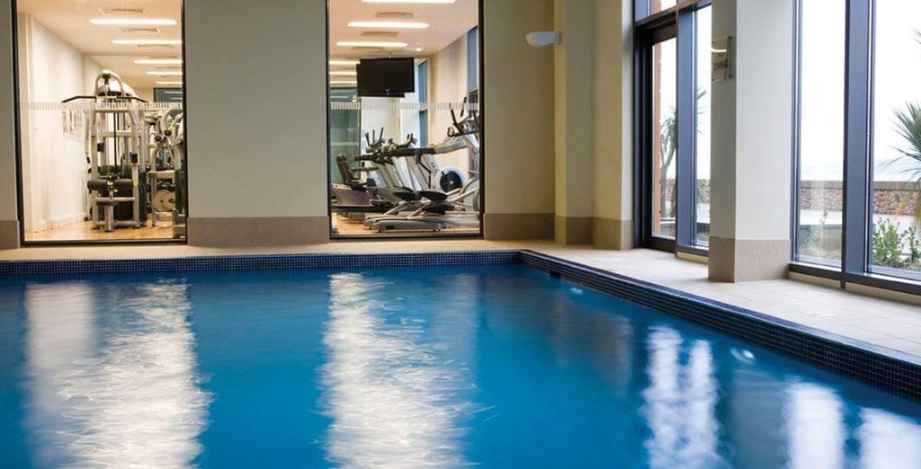 And fantastic leisure facilities, including a spa and indoor pool