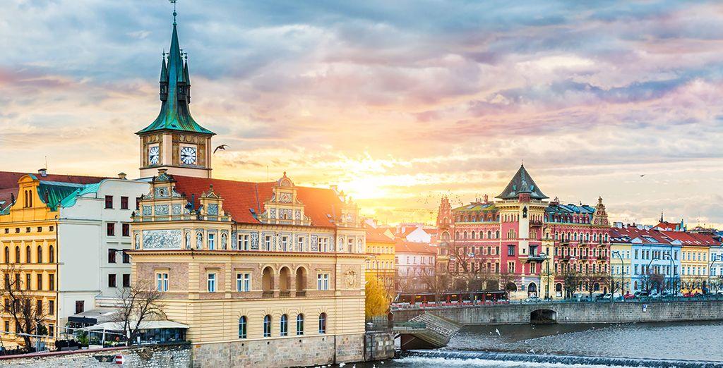 Enjoy the magic of Prague - K+K Fenix Hotel 4* Prague