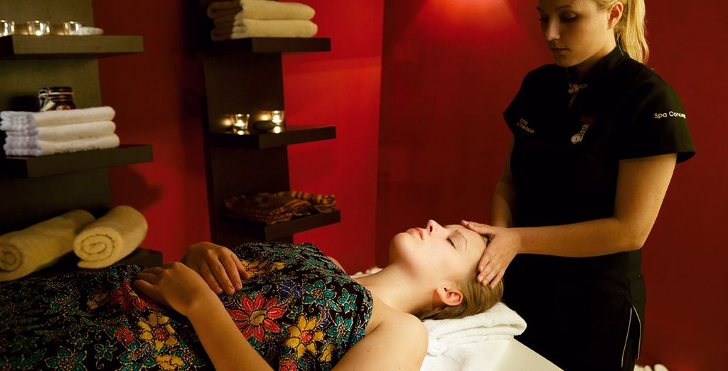 Or relax with a spa treatment