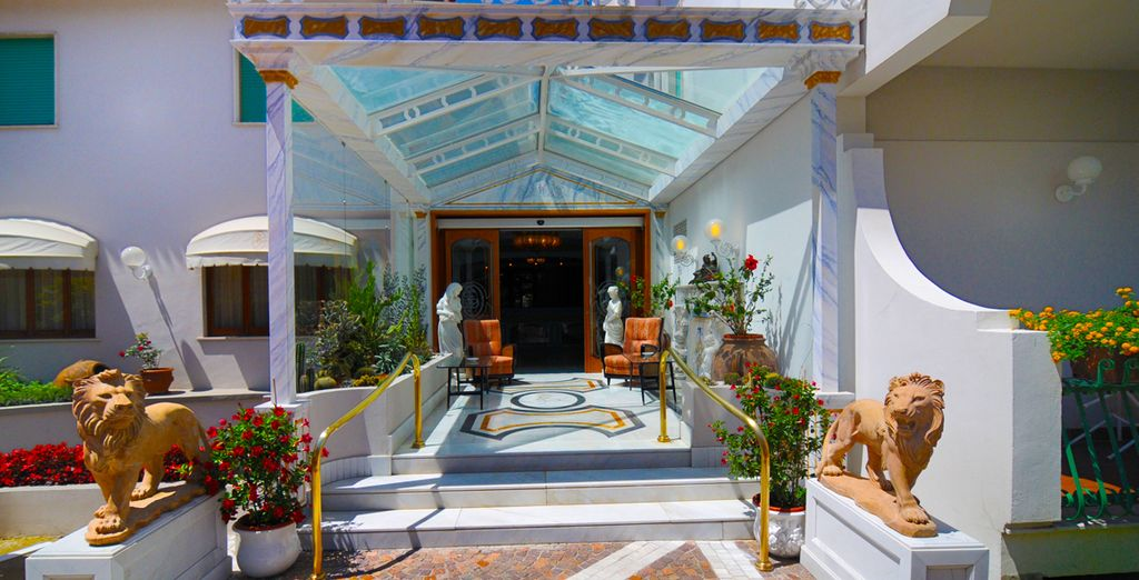 Which will charm you with its Mediterranean-style architecture