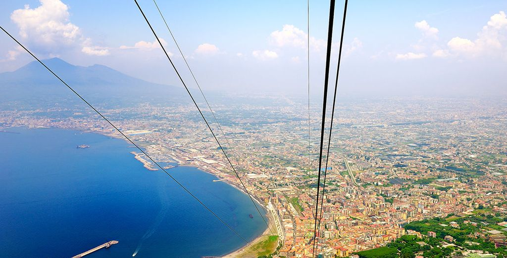 Witness the dizzying heights of Mount Faito