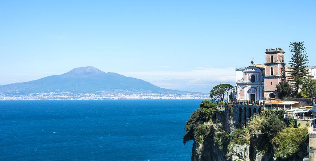 And the coastal beauty of Vico Equense