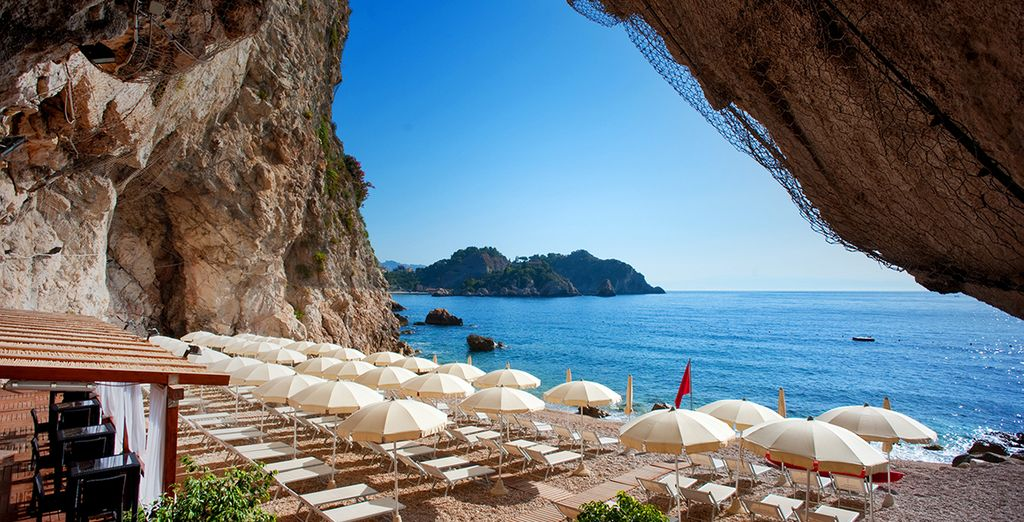 Experience the stunning views and sunny climates of Taormina