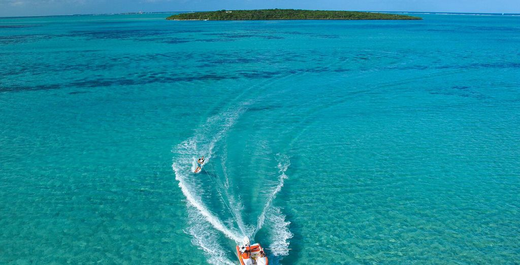 And don't forget to make the most of the watersports on offer!