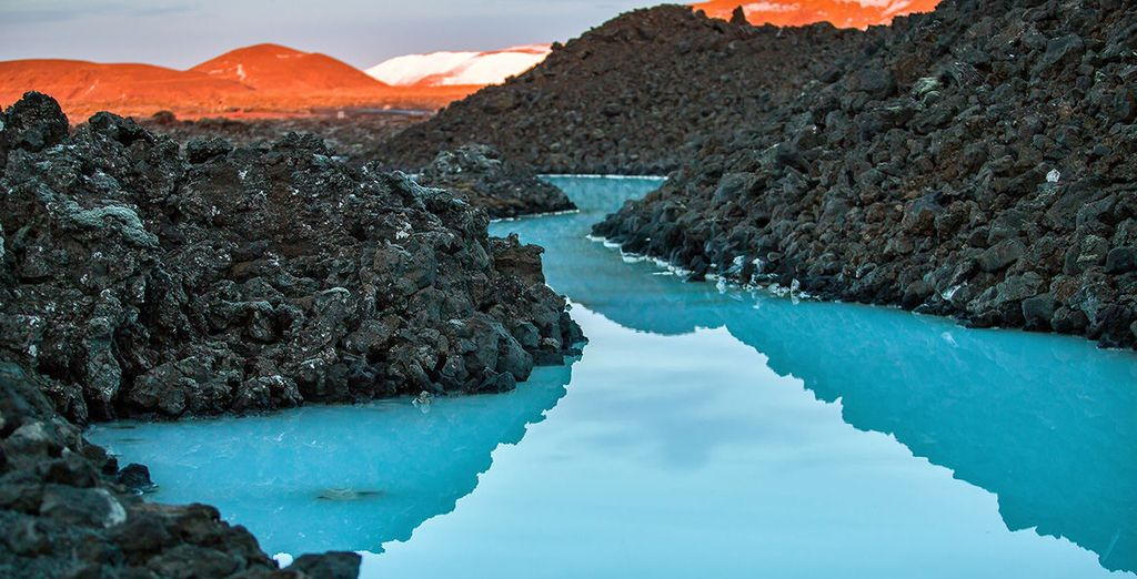 Sink into the relaxing waters of the Blue Lagoon
