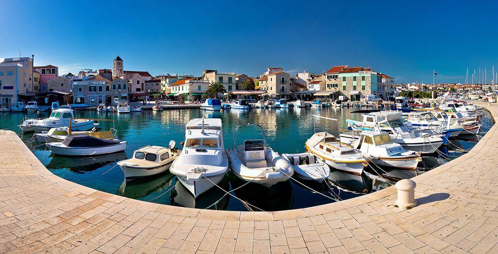 In the pretty coastal town of Vodice