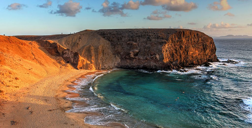 The island of Lanzarote offers dreamy landscapes and picturesque vistas