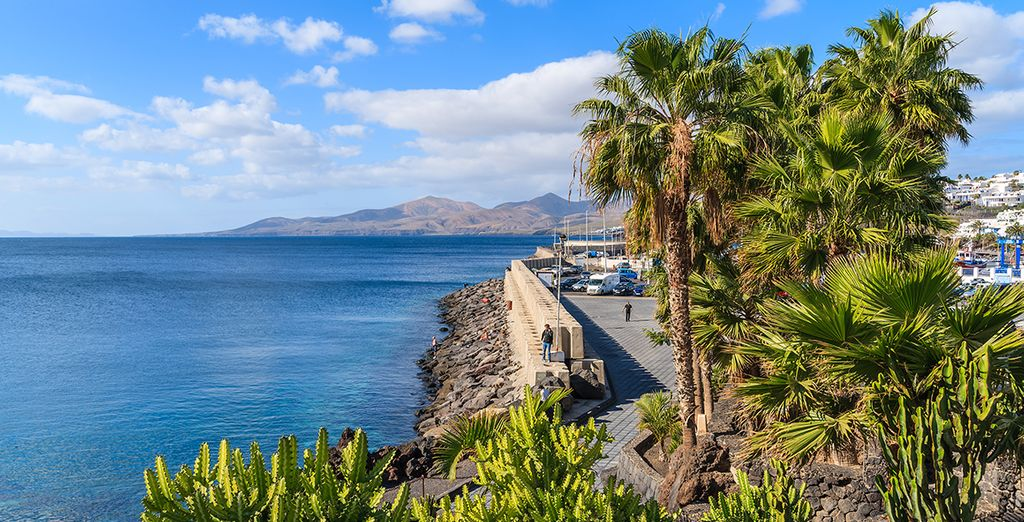 Discover the sun, sea, and sand of Lanzarote