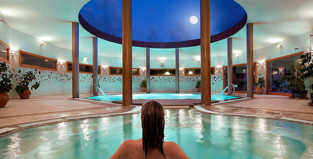 Indulge at the spa