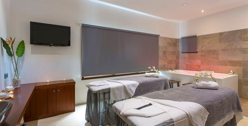 Treat yourself to an indulgent massage