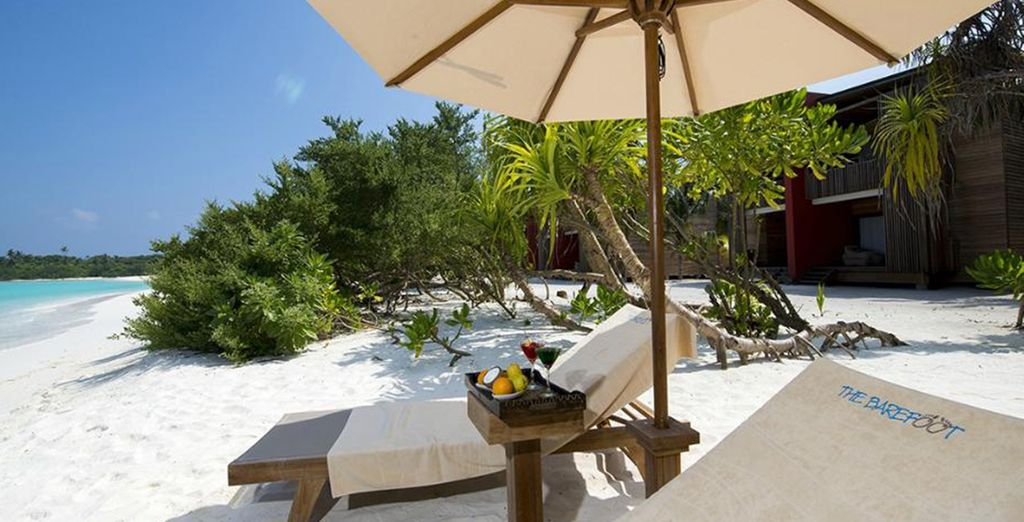 A place of relaxation and peace where nature and contemporary comforts are blended together seamlessly