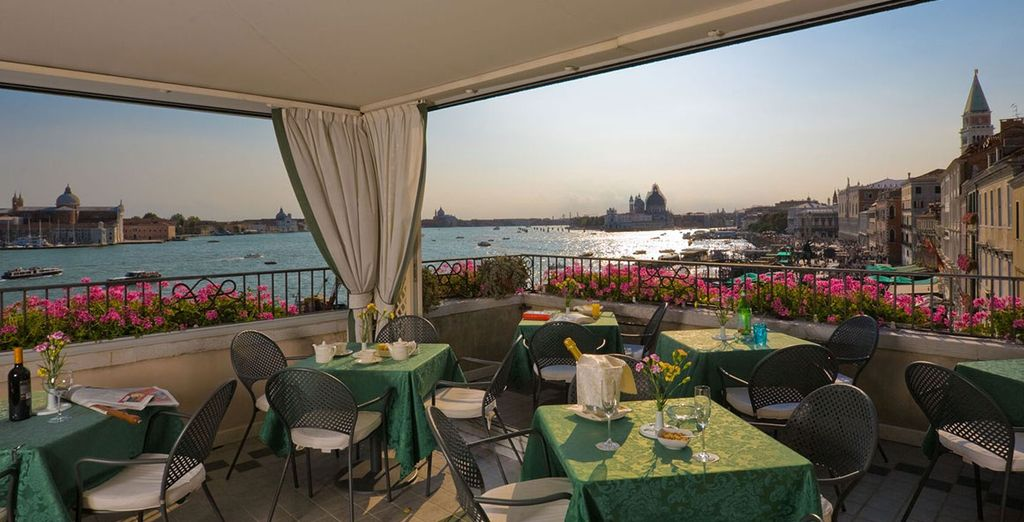 The restaurant specialises in seafood