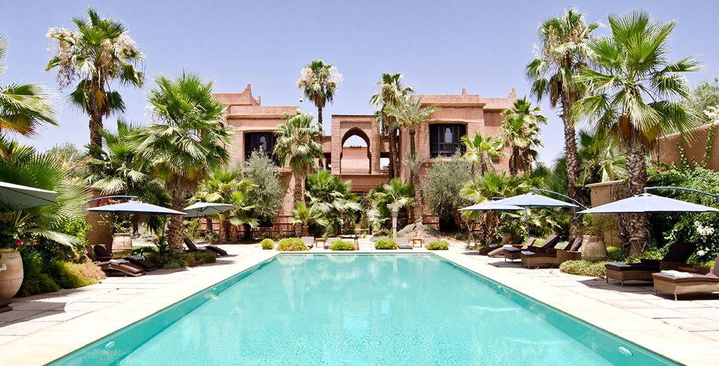 Discover a tranquil oasis in Morocco - Tigmiza Suites & Pavillons 5* Marrakech