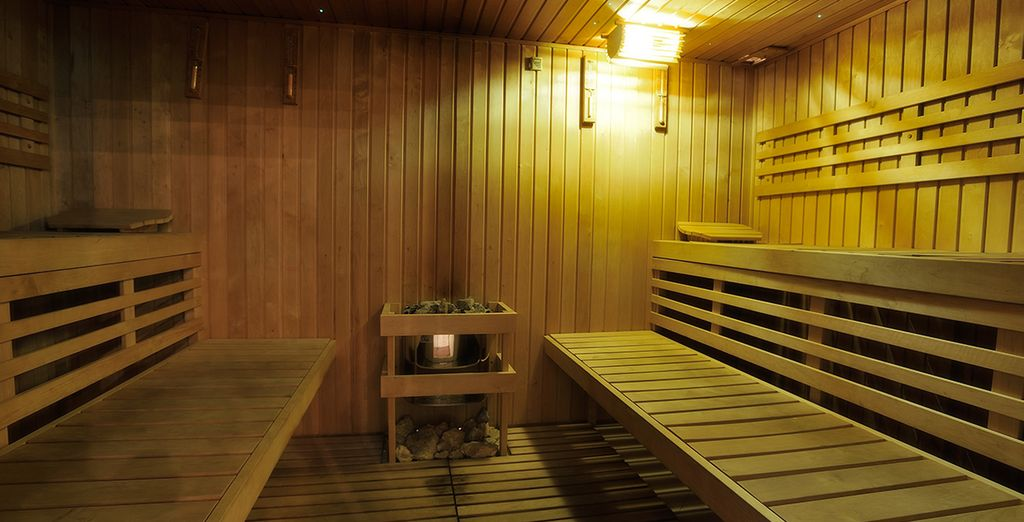 Rejuvenate in the sauna
