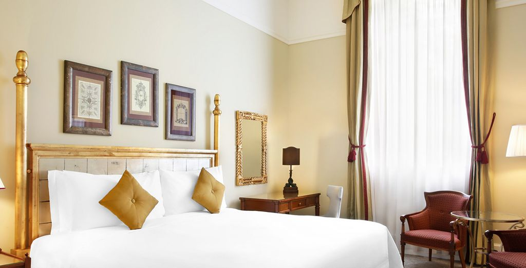 Relax in a Deluxe Room