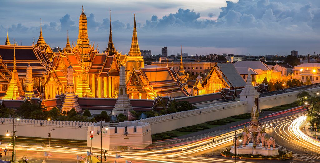Then head out into the city to experience Thailand's capital