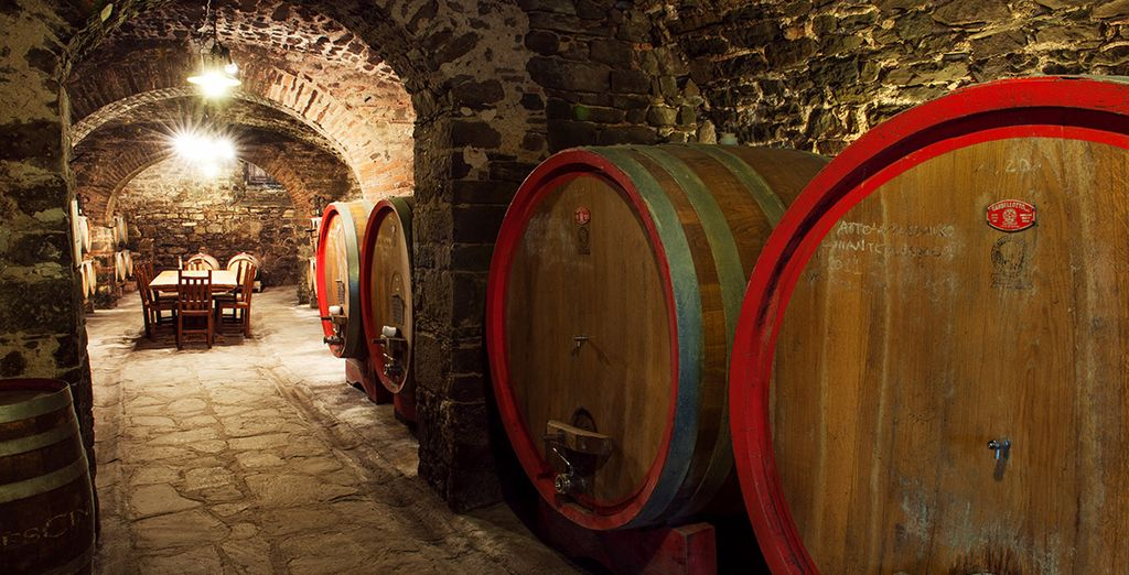 Or why not book a tour of the wine cellars?