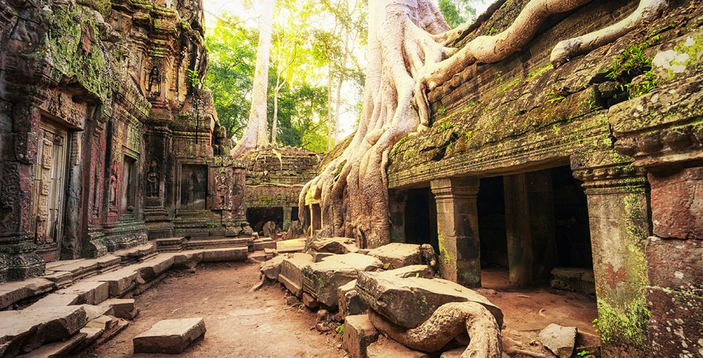 Before arriving in Cambodia, where you can marvel at the ancient Angkor Wat temples