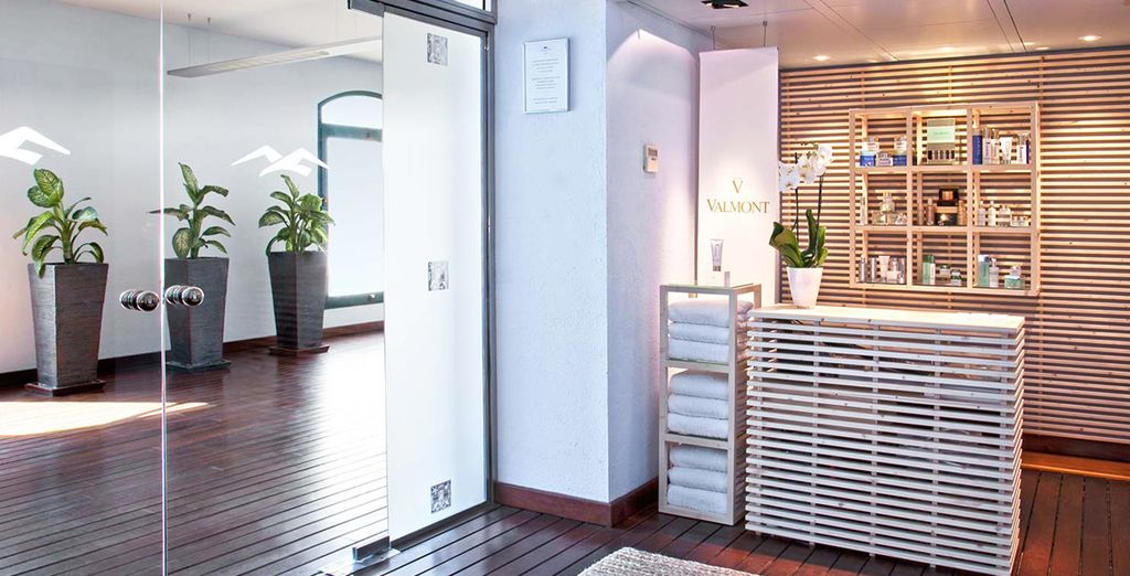Spend some time pampering yourself in the freshly renovated Valmont spa