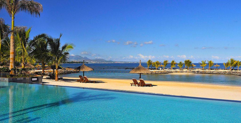 Serenity overlooking the Bay of Balaclava - InterContinental Mauritius with optional JW Marriott Marquis Dubai 5*  Balaclava