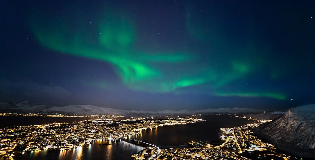 Experience the majesty & beauty of the Northern Lights