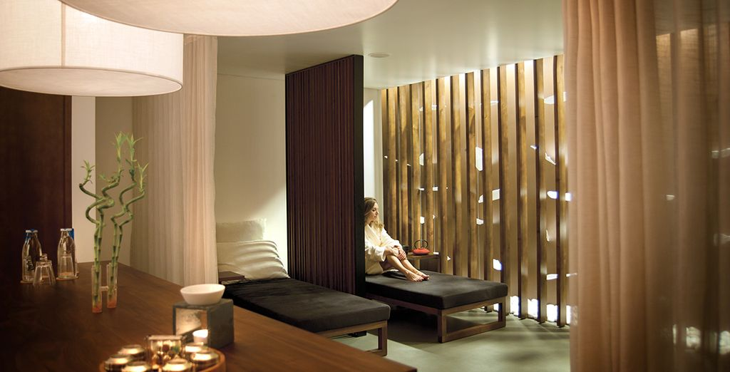 Our offer includes spa and restaurant discounts too