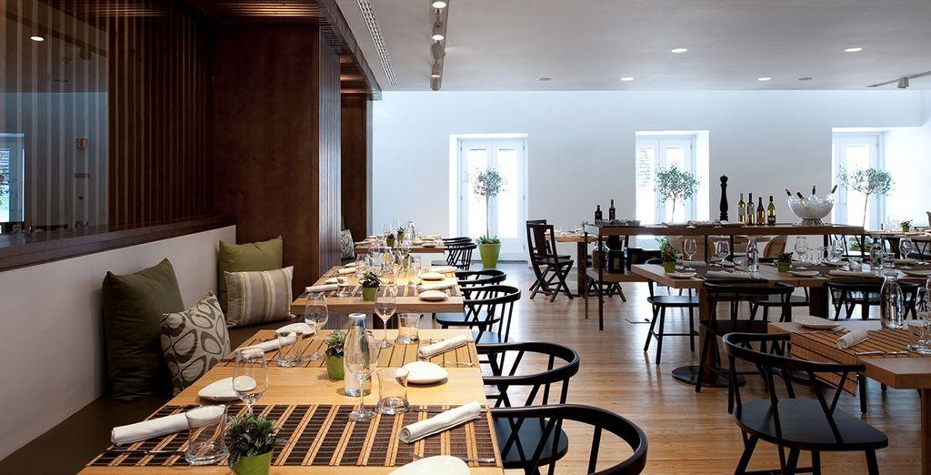 The Mediterranean Brasserie offers workshops and wine tasting...