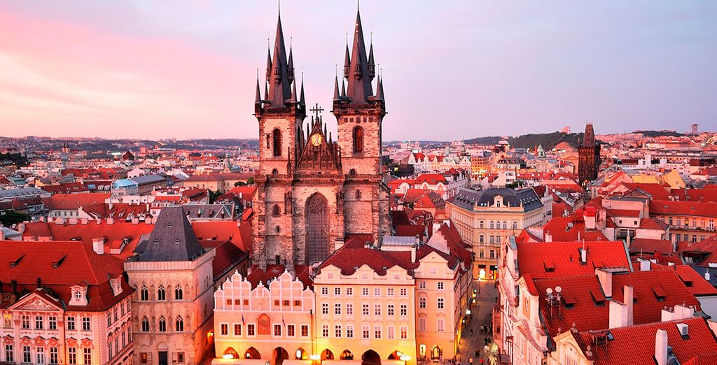 Prague is magical at any time of year