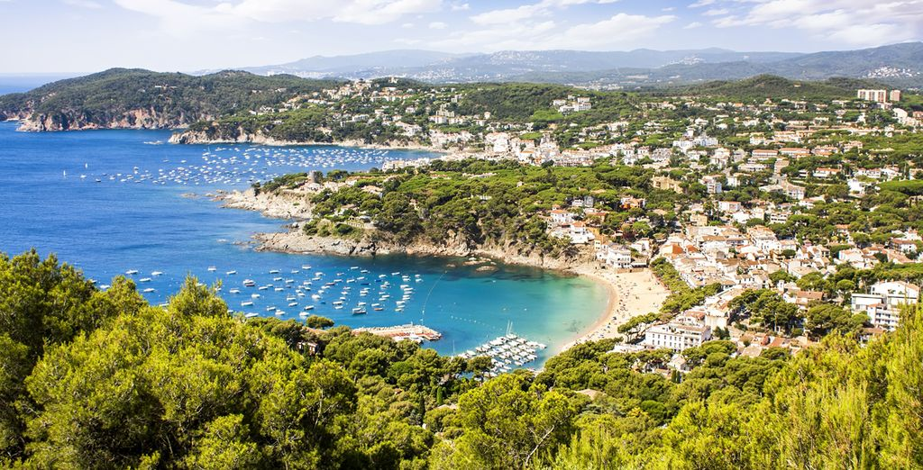Or explore the beautiful Costa brava (Llafranc - 28km)