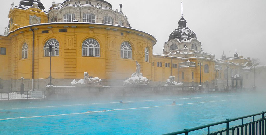 Pay a visit to some of the city's famous baths