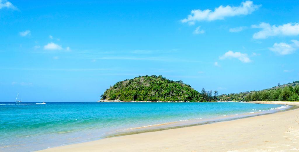 Located in Phuket, near Layan Beach