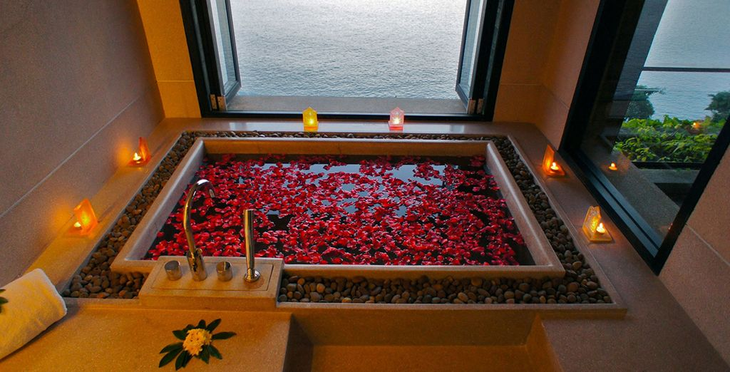 Step into the blissful spa