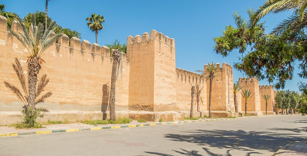 And the ancient walled city of Taroudant