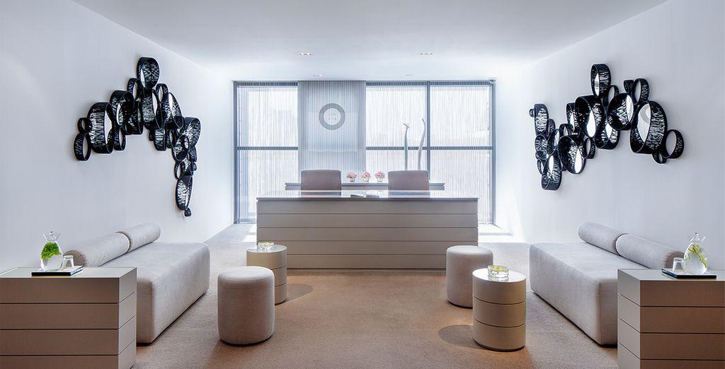 A sleek design hotel