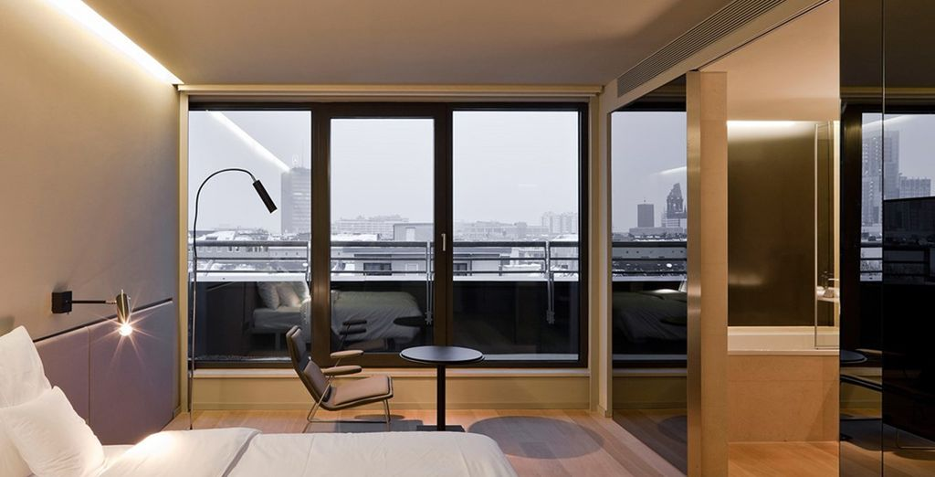 Enjoy a Junior Suite in a stylish design hotel