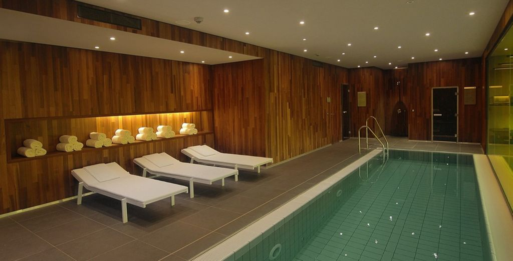 Then head back to the hotel to relax at the wellness area