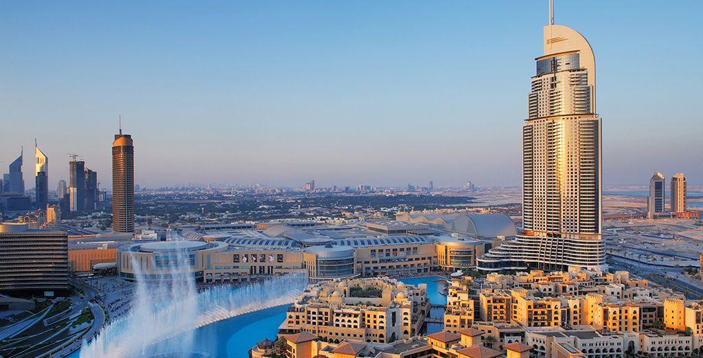 Located in the glittering city of Dubai