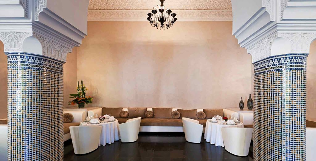 Then feast on Moroccan delicacies at one of the hotel's restaurants