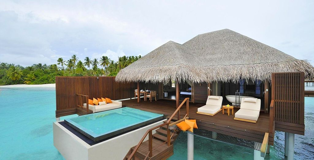 Or splash out on an Ocean Villa with Private Pool