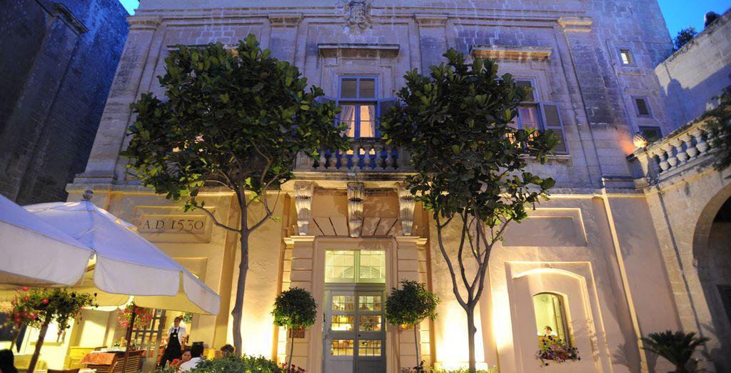 A stunning palazzo awaits...