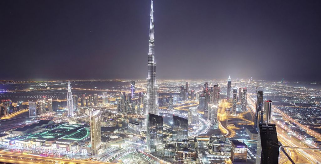 Then head out into the bright lights of Dubai