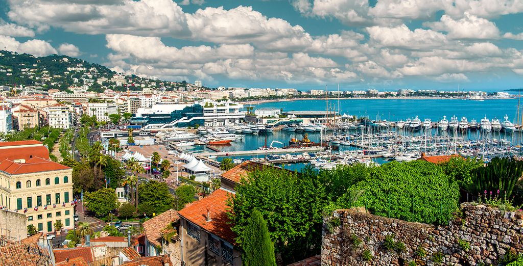 Or gorgeous Cannes