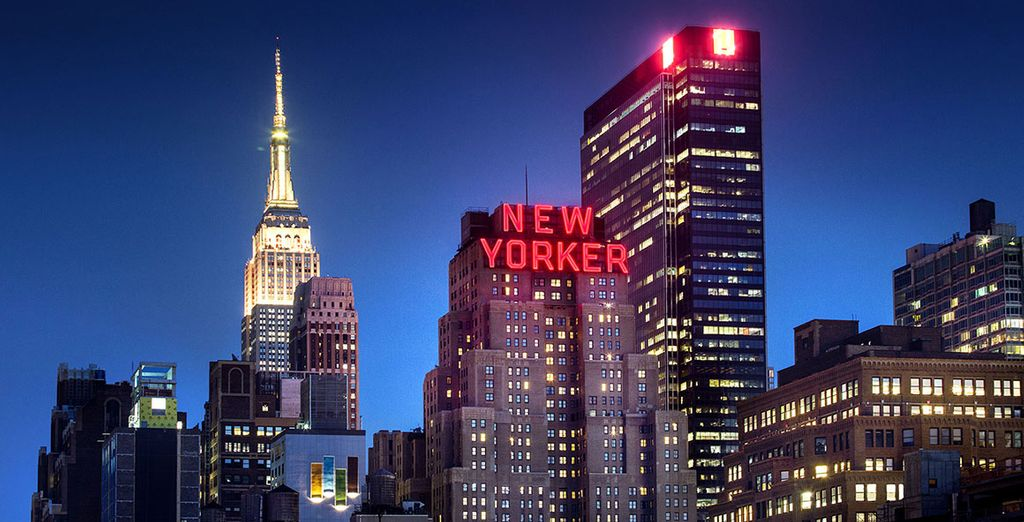 Dazzling Art Deco décor, exceptional service and superb location await you... - The New Yorker, A Wyndham Hotel 4* New York