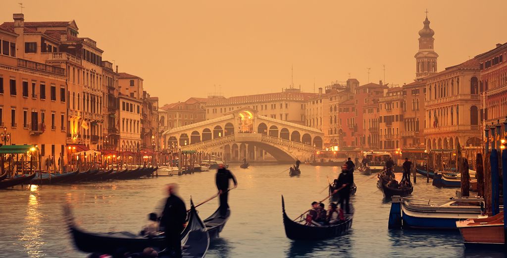 For romance on the Grand Canal... - Hotel Carlton on the Grand Canal 4* Venice