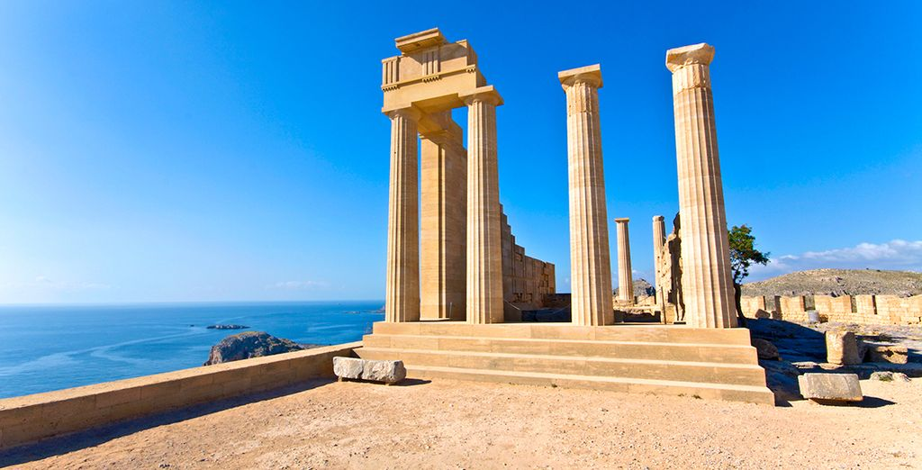 Discover the sights of Rhodes