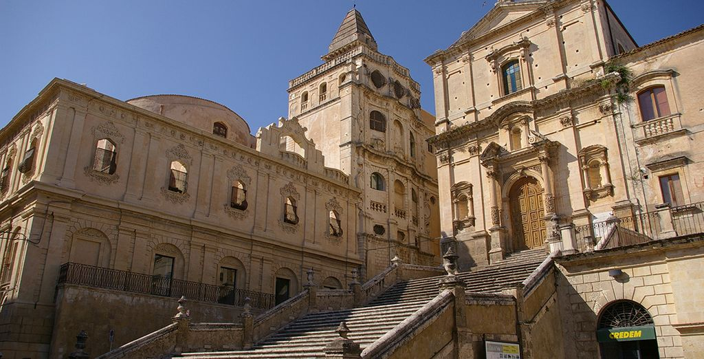 Visit the nearby charming town, Noto