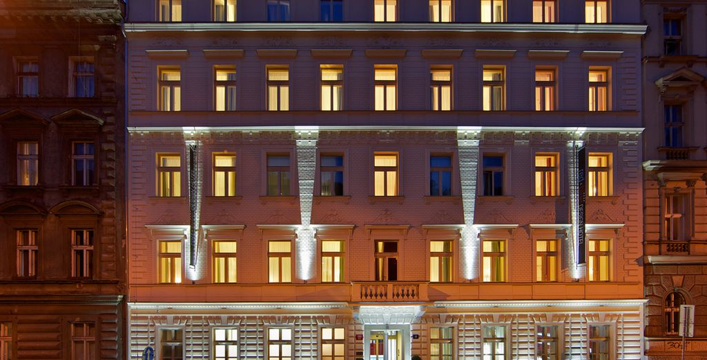 Welcome to the 4* Red and Blue Design Hotel Prague