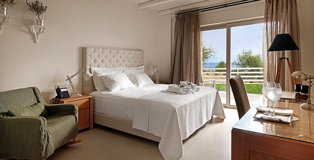 Where our members may choose from an Executive Sea View Room
