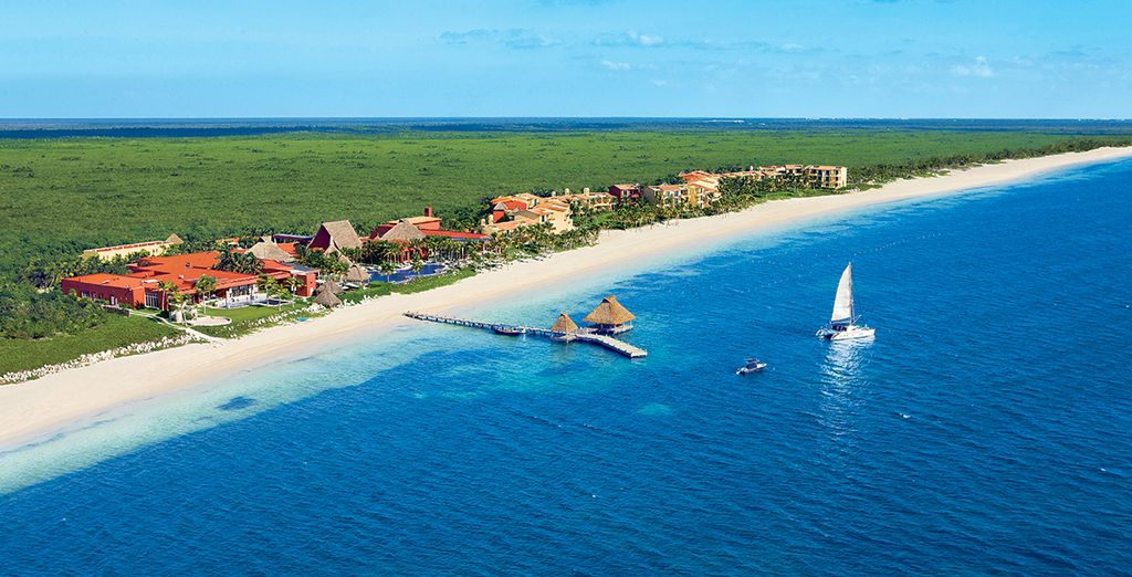 Spend an unforgettable stay on the crystalline Caribbean Sea