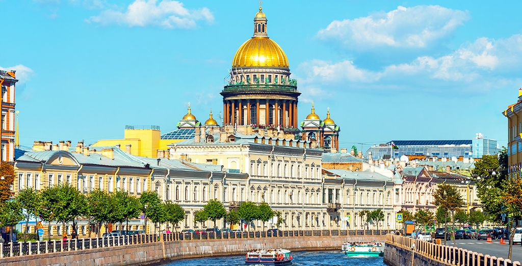 You will be captivated by the elegance of this city